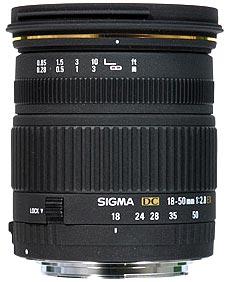 18-50mm F3.5-5.6 DC
