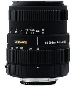 55-200mm F4-5.6 DC HSM NIKON