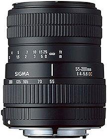 55-200mm F4-5.6 DC